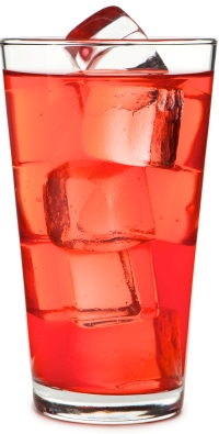 Kool-Aid glass